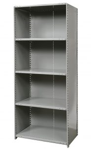 Closed Industrial Shelving
