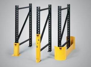 Steel Pallet Rack Frame Protectors