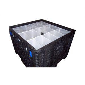 bag divider for a bulk container