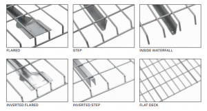 Wire Deck Meshing Styles