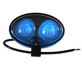 blue safety spotlight