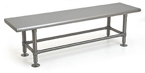 Heavy Duty Solid Gowning Benches - EL Series